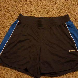 REEBOK charcoal gray & blue shorts sz M NWOT
